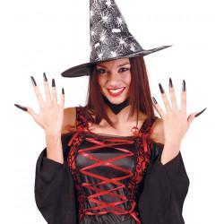 Uñas largas de bruja