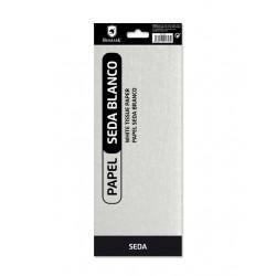 Pack Papel Seda Blanco, 10 Hojas 50*65 cm