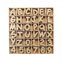 Set Letras Y Numeros Para Scrapbooking