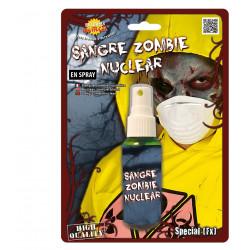 Spray sangre verde zombie