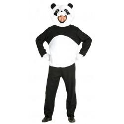 Disfraz de panda para adulto