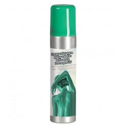 Maquillaje en spray verde para cuerpo y cara