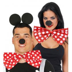 Pajarita gigante Mickey Mouse - Pajarita Roja de Payaso