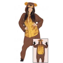 Disfraz de Oso Grizzly para adulto