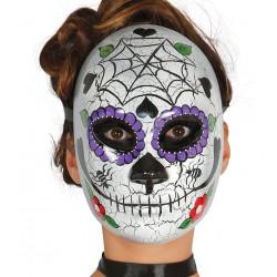 """Mascara """"día de los muertos"""""""