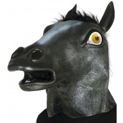 Careta caballo negro