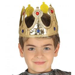 Corona de Tela Oro, Infantil