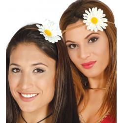 Diadema flor hippie