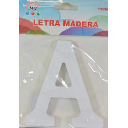 Letra A de Madera de 11 cm - Letra para decorar