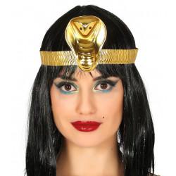 Diadema cleopatra de plástico