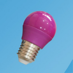 Luz purpura, LED