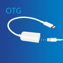 Adaptador Lightning OTG